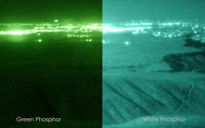 The Latest in Night Eyes: White Phosphor NVGs