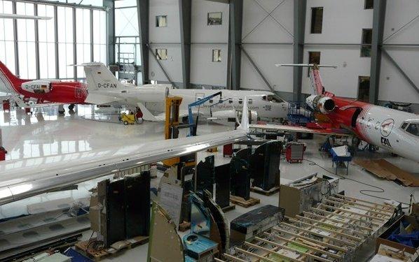 FAI Rent-a-jet to build biggest GA hangar in Germany