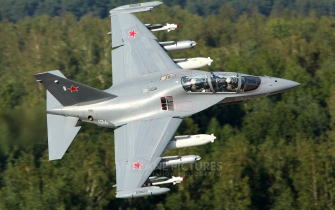 KRET: Yak-130 will be able to attack targets from outside the range of enemy air defense systems