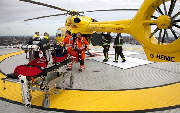 25,000 mission for patients in need flew by East Anglian Air Ambulance