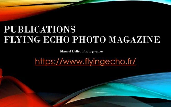 PUBLICATIONS BOOKS Flying Echo Photo Magazine (HARD COVER)