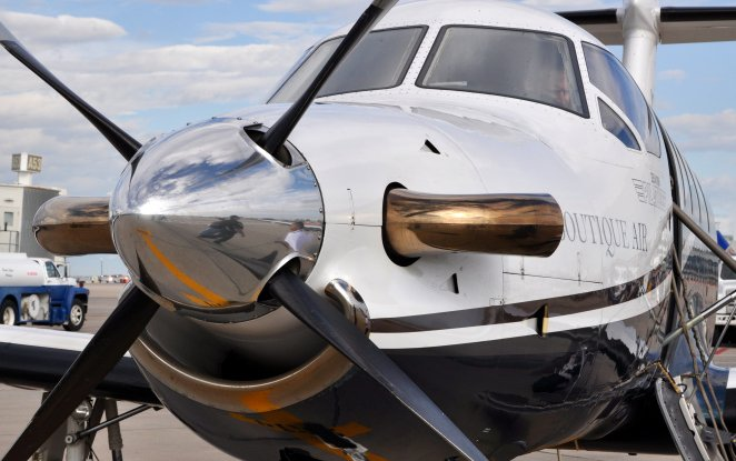 Tiny airline with tiny planes has big ambitions