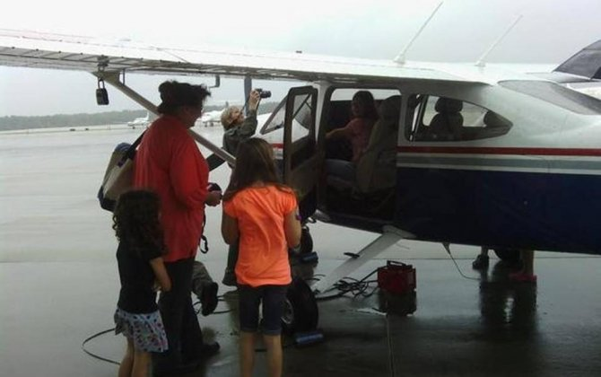 Girls check out aviation careers at RDU