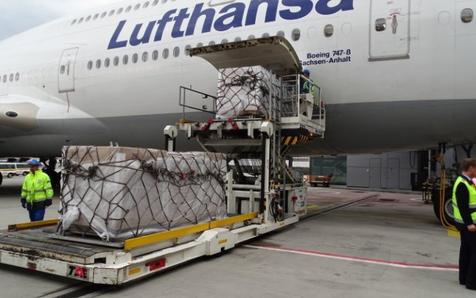 Refugees aided by Lufthansa Cargo