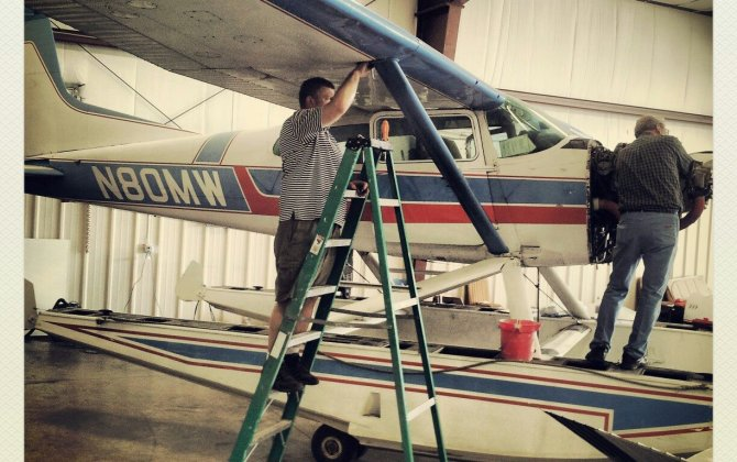 Man earns aviation honor, inspires son to follow the same interest