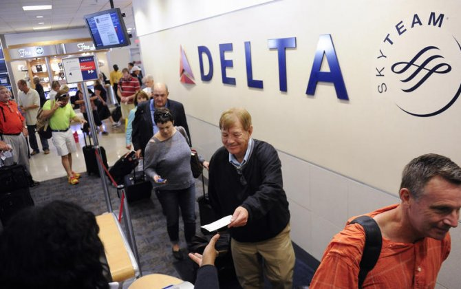Delta is putting its performance record against its competitors