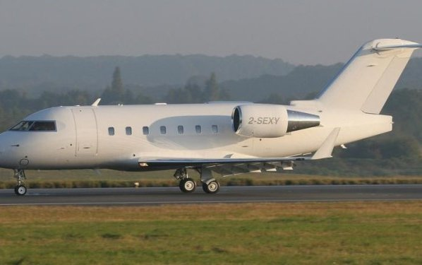 Guernsey registers Challenger 601 as 2-SEXY