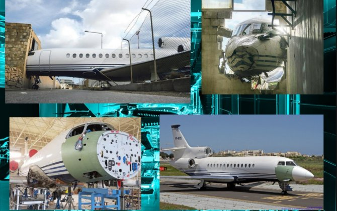 Dassault Falcon Service Offers a Second Life To a Heavily Damaged Falcon