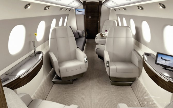 Flexjet takes its first Legacy 500 jet