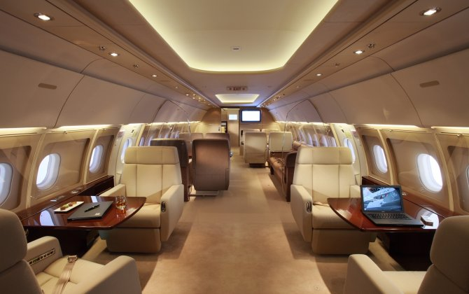 Jet Aviation Basel delivers new Airbus A340-600 with VIP cabin interior