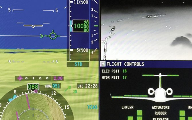 Hands On: HUD and Fly-by-Wire Enhances Legacy 500
