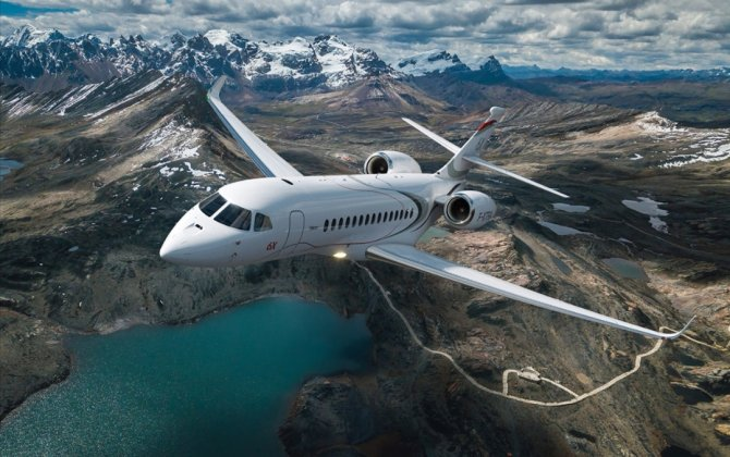 Dassault's Falcon 6X on Track for First Flight