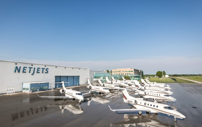 180 degrees strategy for Netjet and positive signs for Business aviation