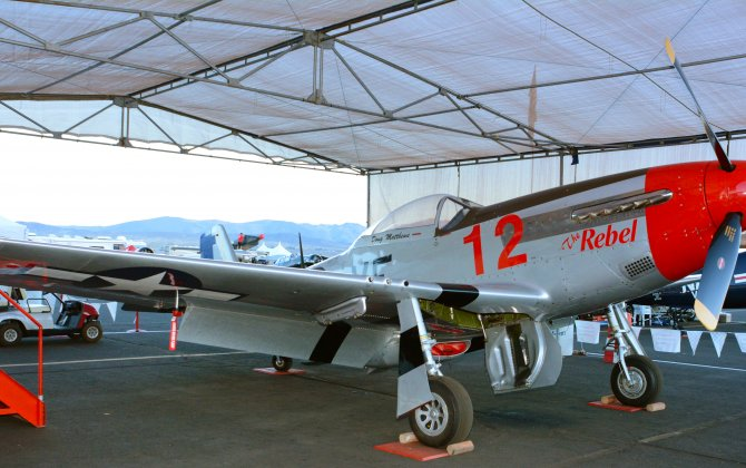 Museum of Aviation Gets Fully-Restored P-51