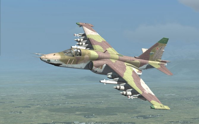 The most effective Russian aircraft against ISIS is Su-25, says National Interest