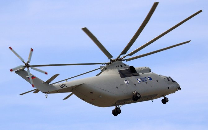 Russian Helicopters discussed deliveries of Mi-26 to Myanmar