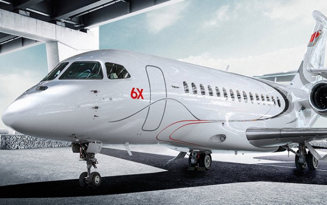 Roll out on 8th December for new Dassault Falcon 6X