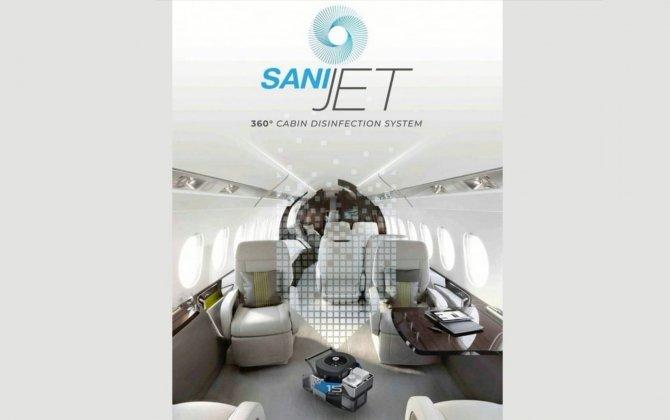 Sanijet - new 360° Cabin Disinfection System