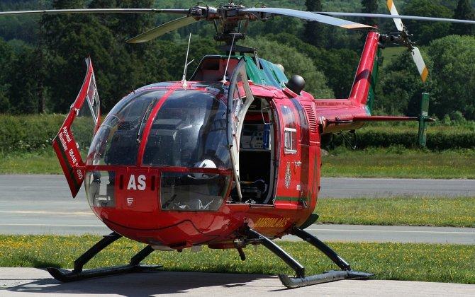 Bond hands over first upgraded EC135 T2 to UK NPAS