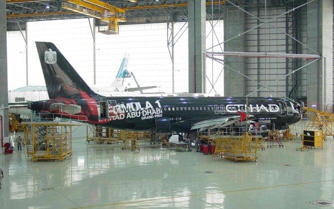 Etihad Airways Engineering has expanded painting facilities