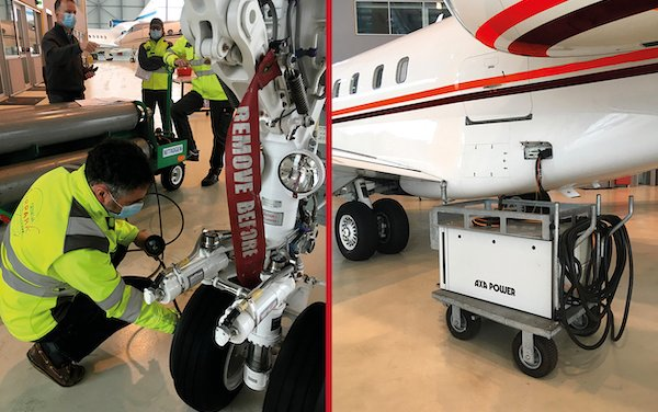 New line maintenance services in the PART-145 certified Geneva Airpark hangar