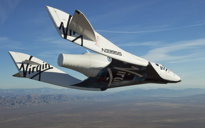 Virgin Galactic's new SpaceShipTwo approaching maiden flight