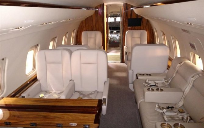 328 Support Services GmbH and Duncan Aviation partner to deliver and certify full cabin completion on Bombardier Challenger 604