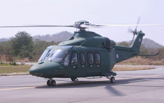 Thai army to boost AW139 fleet size