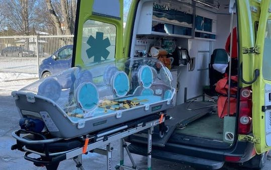 The U.S. Embassy in Latvia donates EpiShuttles to State Emergency Medical Services