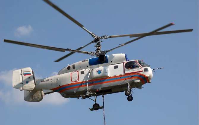 Russian Helicopters Continue Maintaining Kamov Ka-32s in South Korea