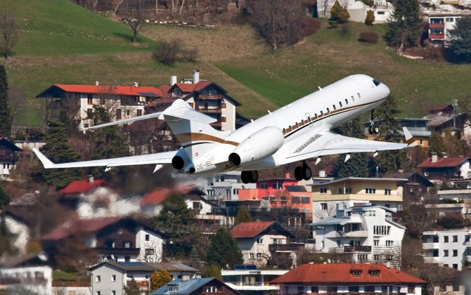 Tyrolean Jet Services received G650