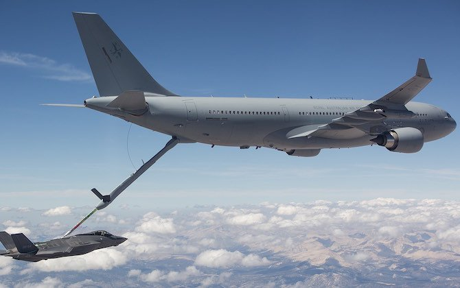 RAAF KC-30 completes F-35 refuelling trials