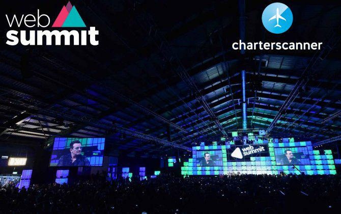 Charterscanner, a business aviation startup, at Alpha program by Web Summit in Dublin.