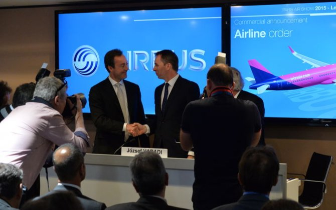 Wizz Air shareholders approve order for 110 Airbus A321neos