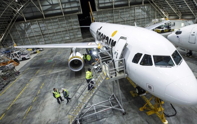 Tigerair Australia credits BAE Systems Australia for improved punctuality