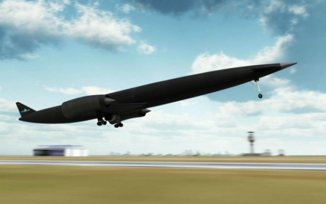 Skylon,to go from Paris to Sydney in four hours
