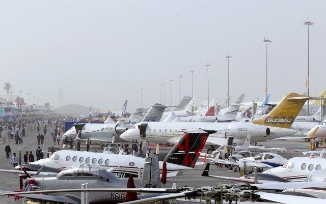 More than 160 aircraft on display at Dubai Airshow