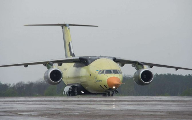 Dubai debut for Antonov transporter