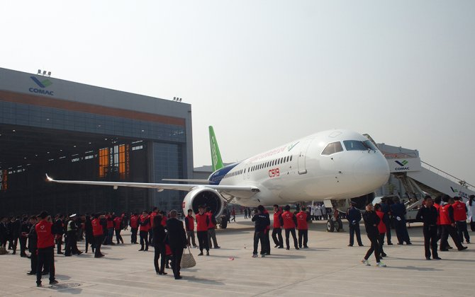 Comac Rolls-out C919, But Program Timeline Still Uncertain