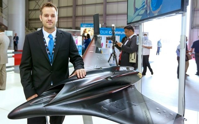 Stratasys unveils 3D-printed unmanned aerial vehicle