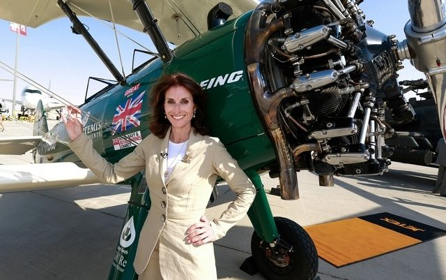 Round-the-world female aviator stops off for Dubai Airshow