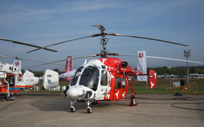 Russian Helicopters plans to sell 230-280 helicopters a year in coming years
