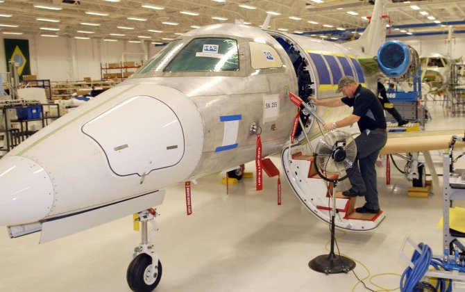 Embraer Engineering Center Rapid Prototypes New Aircraft Interiors