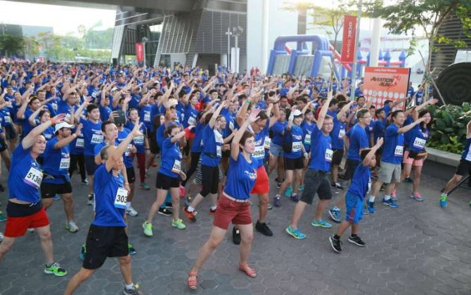 Aviation community and their families raise $250k for charity at special run