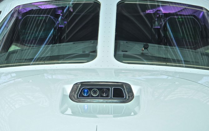 Dassault's Combined Vision System (CVS) Makes Public Debut at NBAA