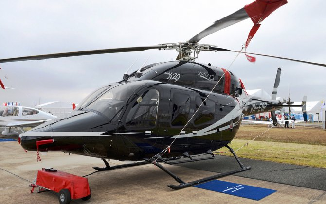 Bell Showcases VIP Helicopter Options