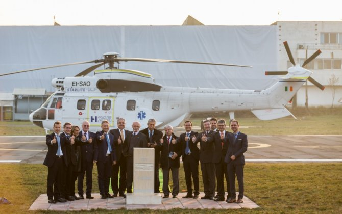 Romania to host production of new, robust, and cost-effective H215 heavy helicopter