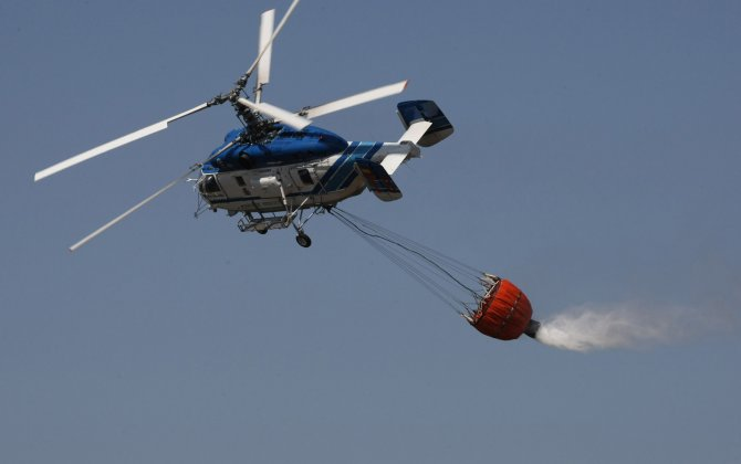 Chinese firm to receive four KA-32 fire fighting helicopters