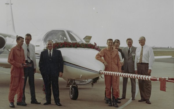 50 years since the inaugural flight of the first Cessna Citation 500