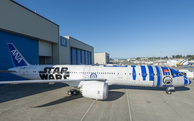 ANA Star Wars 787 to touch down in Sydney on Saturday